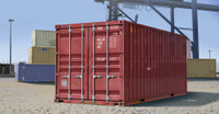 20ft. Shipping/Storage Container 1/35 Trumpeter