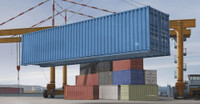 40ft. Shipping/Storage Container 1/35 Trumpeter