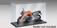 "Showcase for 1/12 Motorcycle (9.7""L x 4""W x 6""H) Black Base Trumpeter"