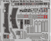 Typhoon Mk Ib Car Door Interior for ARX (Painted) 1/24 Eduard