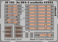 Seatbelts Ju 88A-4 Steel for ICM (Painted) 1/48 Eduard