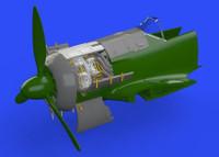 Fw 190A-5 Engine for EDU (Photo-Etch & Resin) 1/48 Eduard