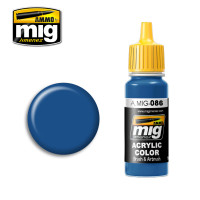 Blue RAL 5019 Acrylic Paint AMMO of Mig Jimenez