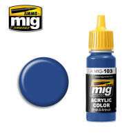 Medium Blue Acrylic Paint AMMO of Mig Jimenez
