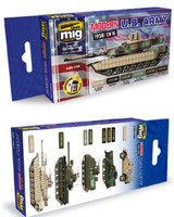 Modern USA Army Colors Set AMMO of Mig Jimenez