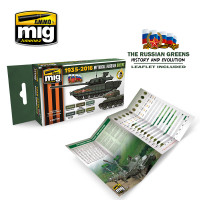 Mythical Russian Green Colors Set AMMO of Mig Jimenez