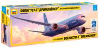 B787-9 Dreamliner Passenger Airliner 1/144 Zvezda