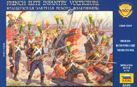 French Elite Infantry Voltigeurs 1805-13 (40) 1/72 Zvezda