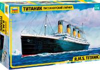RMS Titanic Ocean Liner 1/700 Zvezda