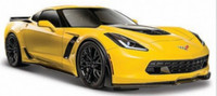 2015 Corvette Z06 (Yellow) 1/24 Maisto