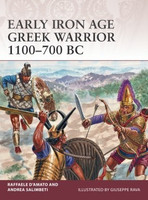 Warrior: Early Iron Age Greek Warrior 1100-700BC Osprey Books