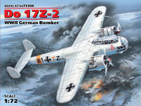 WWII German Do 17Z-2 Bomber 1/72 ICM Models