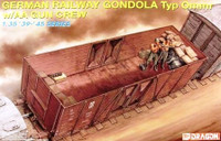 German Railway Gondola Type OMMR w/AA Crew 1/35 Dragon