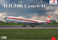 DH106 Comet 4C Passenger Airliner 1/144 A-Model