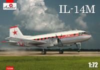 Ilyushin Il-14M Personnel/Cargo Aircraft 1/72 A-Model
