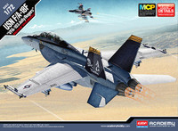 F/A-18F VFA-103 Jolly Rogers USN Jet Interceptor (Snap) 1/72 Academy
