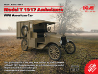 1917 Model T Ambulance WWI 1/35 ICM Models