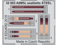 Seatbelts A6M5c Steel for HSG (Painted) 1/32 Eduard