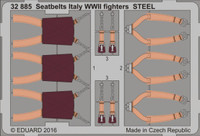 Seatbelts Italy Fighters Steel WWII (Painted) 1/32 Eduard
