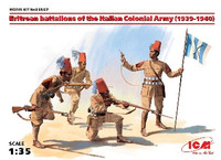 Eritrean Battalions of the Italian Colonial Army 1939-40 (4) 1/35 ICM Models