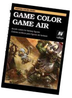 Hand Painted Color Chart: Game Color & Game Air Vallejo