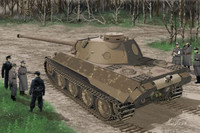 Panther Ausf D V2 Versuchs-Serie Tank 1/35 Dragon