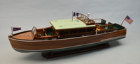 "1929 Chris Craft 38' Commuter Boat Kit (1/12) 38"" Dumas"