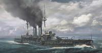 Japanese Navy Mikasa Battleship 1/700 Hasegawa