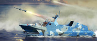 PLA Chinese Navy Type 22 Missile Boat 1/144 Trumpeter