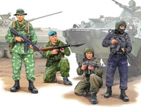 Russian Special Operation Force Figure Set (4) 1/35 Trumpeter