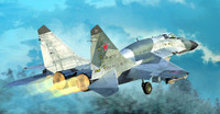 MiG-29SMT Fulcrum 9.19 Russian Fighter 1/72 Trumpeter