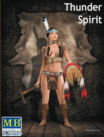 Thunder Spirit Western Style Pin-Up Indian Girl 1/24 Masterbox