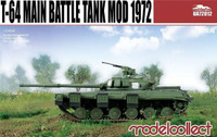 T-64 Mod 1972 Main Battle Tank 1/72 ModelCollect