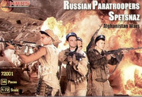 Afghanistan War Russian Paratroopers (30) 1/72 Mars Models