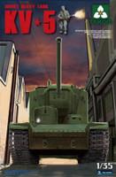 Soviet KV-5 Super Heavy Tank w/Figure 1/35 Takom