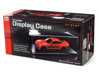 Auto Plastic Display Showcase w/Black Base 1/18 Auto World