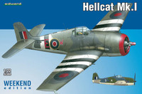 Hellcat Mk I Fighter (Wkd Edition Plastic Kit) 1/72 Eduard