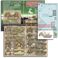 PzKpfw V Panther Ausf D, A/G Panther 1/35 Echelon Decals