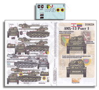 AMX-13 Part 1 1/35 Echelon Decals