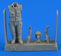 Warshaw Pact Aircraft Mechanic #2 (Standing) 1/48 Aerobonus