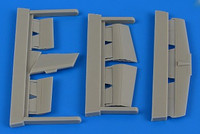 L29 Delfin Control Surfaces For AGK (Resin) 1/72 Aires