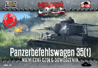 WWII Panzerbefehlswagen 35(t) German Tank 1/72 First To Fight Models