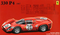 1967 Ferrari 330P4 Race Car 1/24 Fujimi