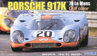 Porsche 917K Gulf Color 1970 LeMans Race Car 1/24 Fujimi