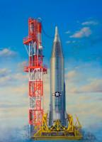 Convair SM65D Atlas USAF ICBM (Inter-Continental Ballistic Missile) 1/72 Horizon Models