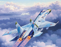 Su-27 Flanker Combat Jet Fighter 1/144 Revell Germany