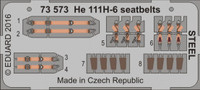 Seatbelts He 111H-6 Steel for ARX (Painted) 1/72 Eduard