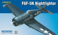 F6F-5N Night Fighter (Wkd Edition Plastic Kit) 1/48 Eduard