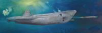 U-Boat Type VIIC U-552 1/48 Trumpeter