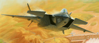 Chinese J-20 Mighty Dragon Prototype 2011 Fighter 1/72 Trumpeter